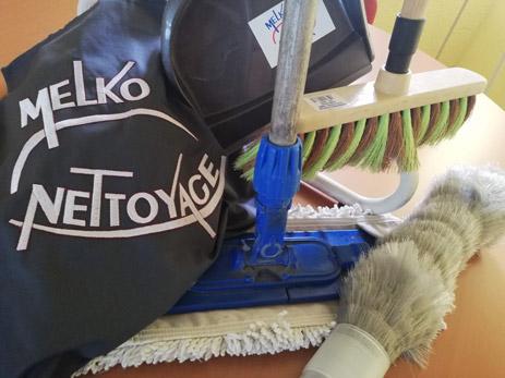 Photos du matériel Melko Nettoyage